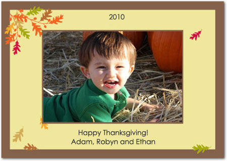 Thanksgiving Card - 2010