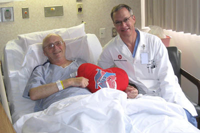 David Swendso, Heart Surgery Patient with Dr. Bethencourt