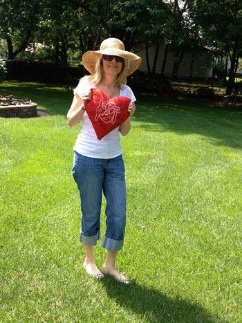 Christine Celebrating 4th of July