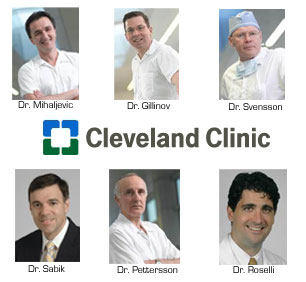 Cleveland Clinic Heart Surgeon Team