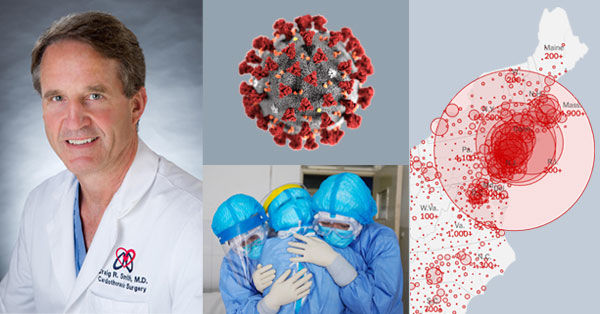 Dr. Craig Smith Reports on COVID-19 Pandemic