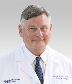 Patrick McCarthy, MD, at Northwestern University
