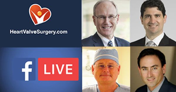 Facebook Live Videos from Heart Valve Summit Conference