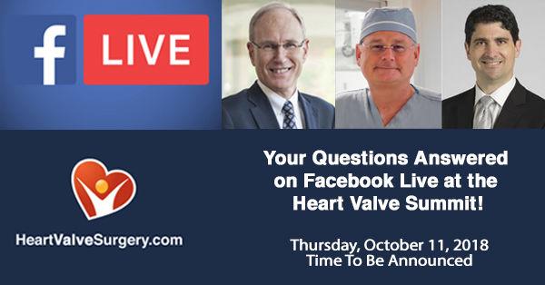 HeartValveSurgery com Announces 1st Facebook Live Event!