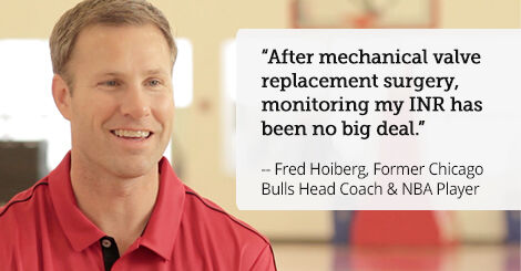 Fred Hoiberg - Mechanical Valve Replacement Patient
