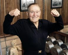 Jack LaLanne - Heart Valve Surgery Patient