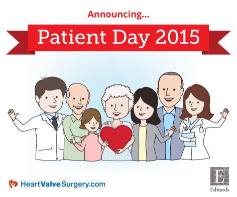 2015 Patient Day for Heart Valve Patients at Edwards Lifesciences