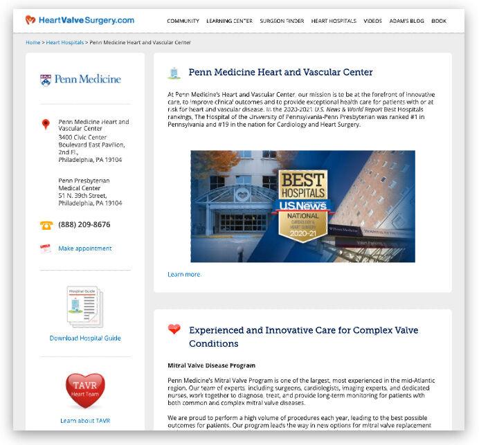 Penn Medicine Heart Valve Center