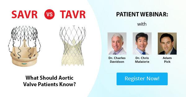 SAVR v. TAVR Webinar - Click Here to Sign Up Now!