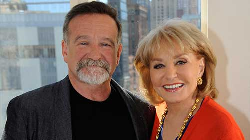 Robin Williams and Barbara Walters After Heart Surgery