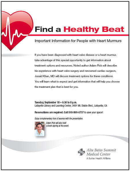Invitation To Educational Seminar For Heart Valve Patients