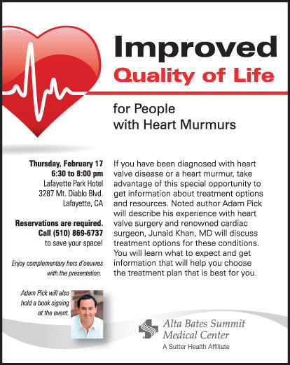 Invitation To Attend Alta Bates Summitt Medical Center Event