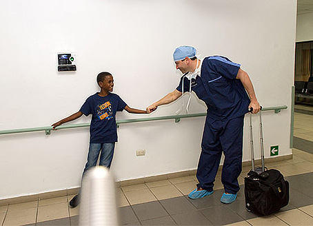 Adam Pick at the Medical Mission in Dominican Republic