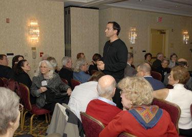 Adam Pick - Speaking At Inova's Patient  Reunion