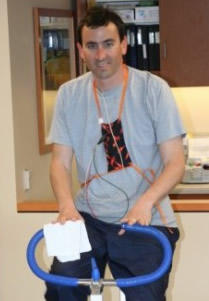 Adam Pick At Cardiac Rehabilitation Center