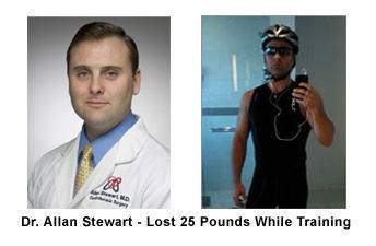 Allan Stewart Loses 25 Pounds While Training For The New York City Triathlong