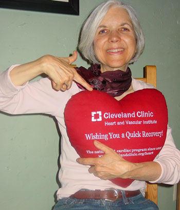 Anita Devine - Mitral Valve  Repair Patient