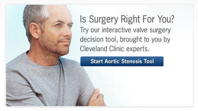 Aortic Stenosis Tool By The Cleveland Clinic