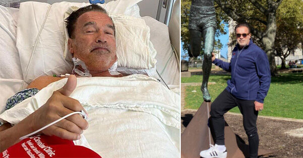 Arnold Schwarzenegger After 3rd Heart Valve Surgery