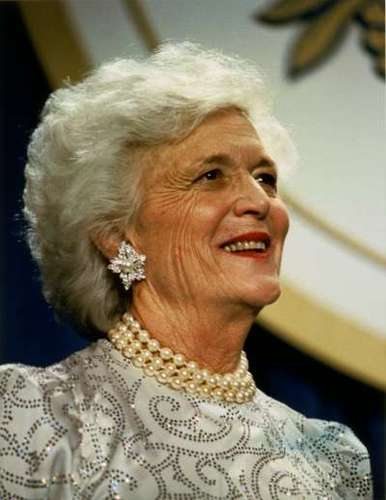 Barbara Bush - Heart Surgery Patient