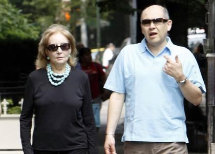 Barbara Walters - Walking After Heart Valve Replacement Surgery