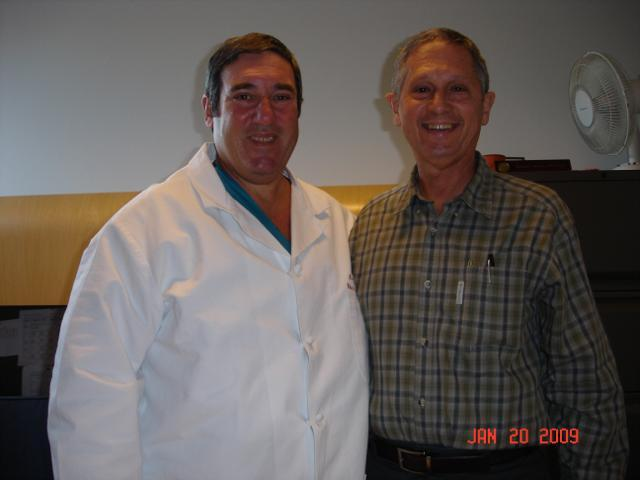 Dr. Richard Shemin With Leo