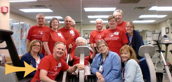 Patients At Cardiac Rehabiliation Classes