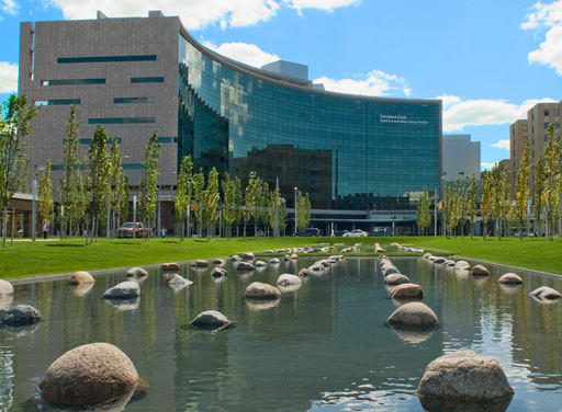 Picture Outside The Cleveland Clinic Heart Institute