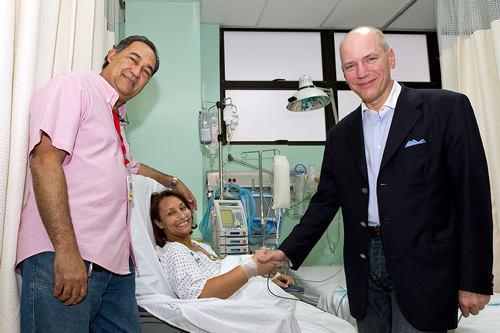 Dr. Adams, Dr. Guerrero and Mitral Valve Patient