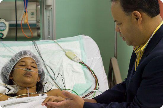 Dr. Ricardo Lazala With Patient