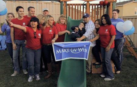 Make-A-Wish & Edwards Lifesciences Teams