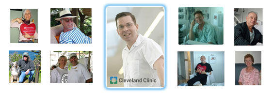Patient Photo Collage Of Dr. Marc Gillinov, MD