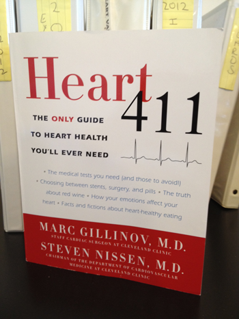 Heart 411 Book By Dr. Marc Gillinov & Dr. Steven Nissen