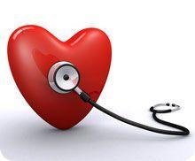 Stethoscope Listening to Heart Murmur