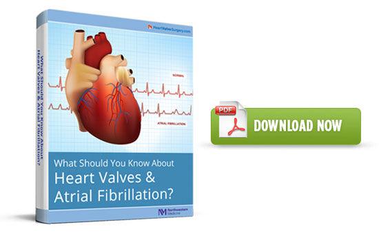Free Heart Valve & Atrial Fibrillation eBook
