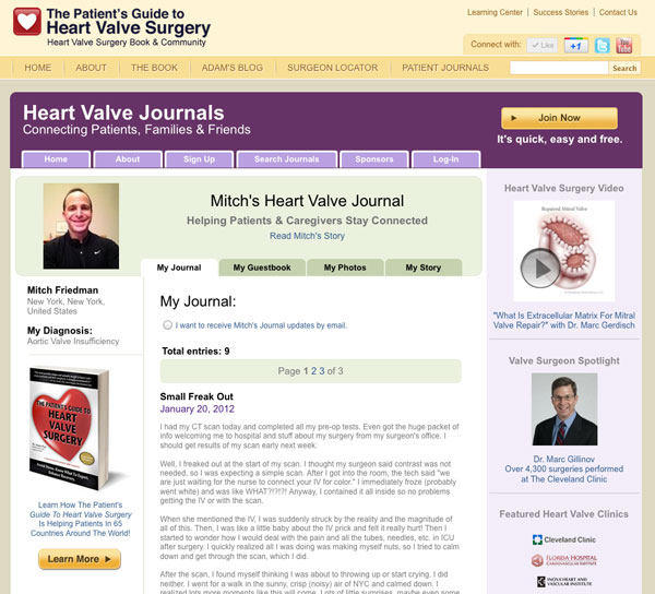 Picture of Heart Valve Journals