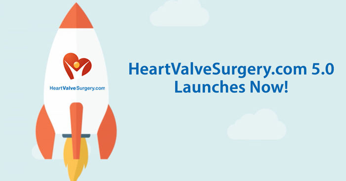Relaunch Announcement for HeartValveSurgery.com