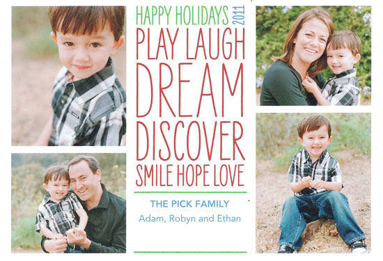 Happy Holidays Card For 2011