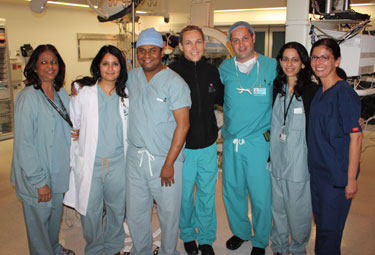 Saibal Kar's Medical Team At Cedars Sinai