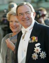 Greece King Constantine - Heart Surgery Patient