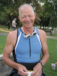 Patient Triathlete After Heart Surgery & Stroke