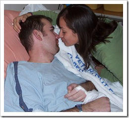 Kissing A Heart Surgery Patient