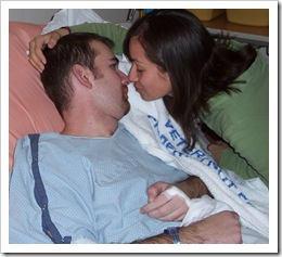 Kissing A Heart Surgery Patient