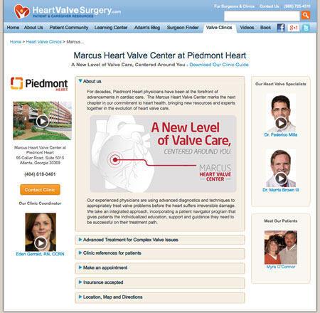Bernie Marcus Heart Valve Center