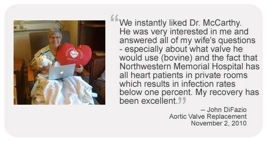 Patient Testimonial For Dr. Patrick McCarthy