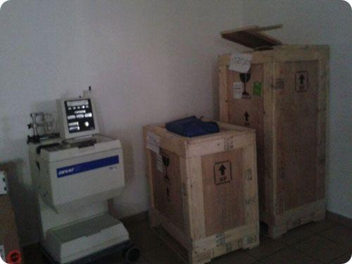 Donated Equipment Sent To HGPS For The Medical Mission
