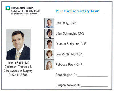 Heart Valve Clinic Tour - Cleveland Clinic by Adam Pick