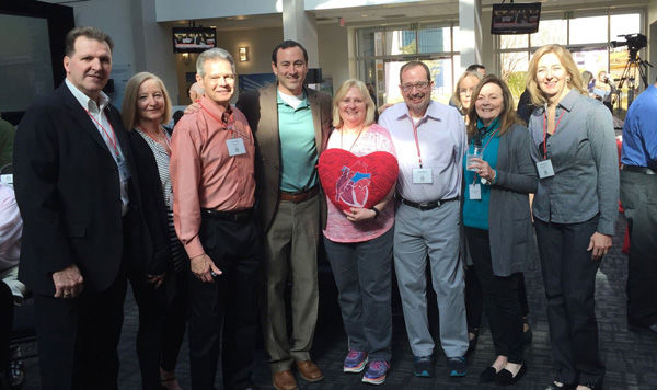 Heart Valve Patients at Community Event