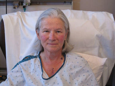 Patient, Kelly Gaul, Receives Pig Valve Replacement