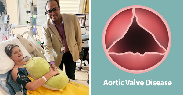 Pediatric Aortic Valve Surgery Patient with Doctor Sameh Said